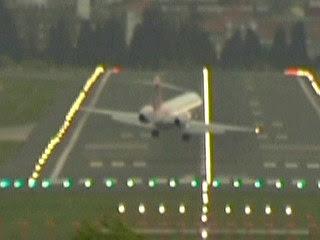 Aterrissagens sob ventos de 100 km/h na Espanha