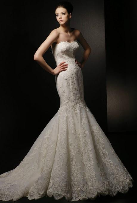 2015 mermaid wedding dresses
