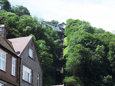 Cliff Railway at Lynmouth