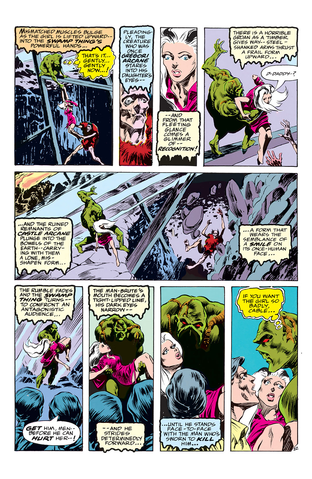 Swamp Thing (1972) Issue #3 #3 - English 23