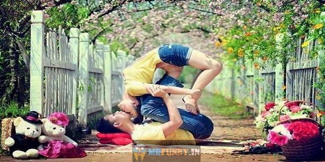 Crazy Love Couple Funny Love Picture
