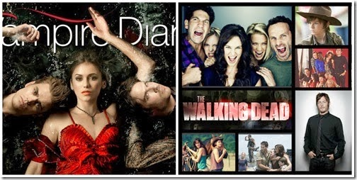 Immagine Vampire Diaries VS Walking Dead