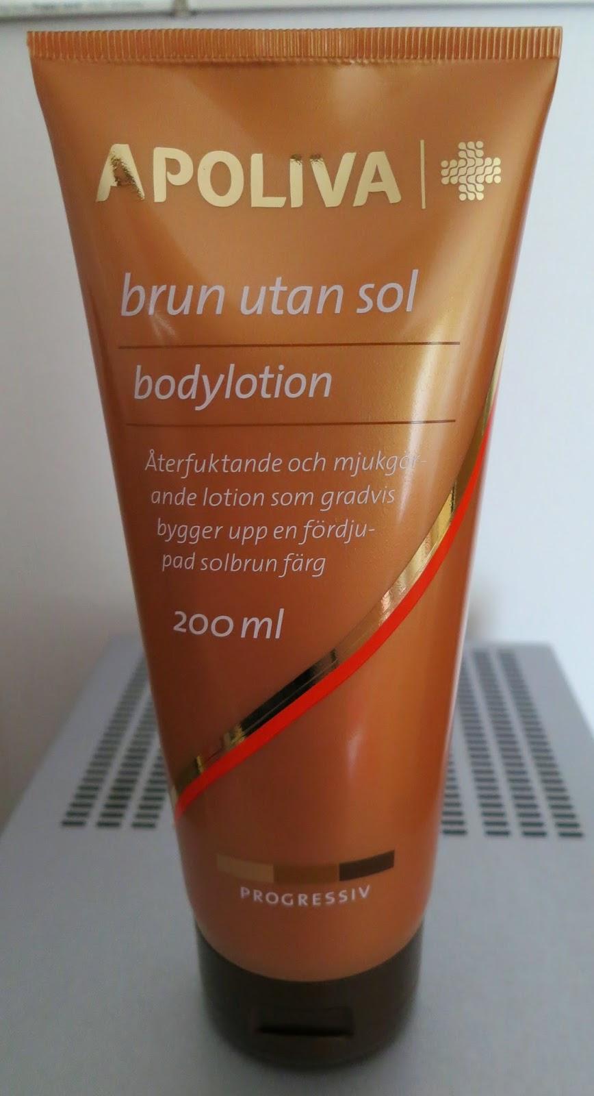 apoliva brun utan sol test