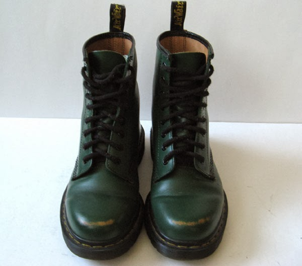 closet dr martens doc martens green leather ankle