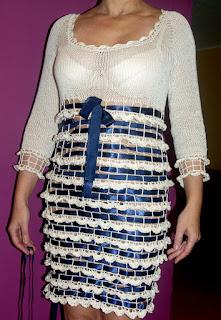 Sukienka odsłona druga - modelka