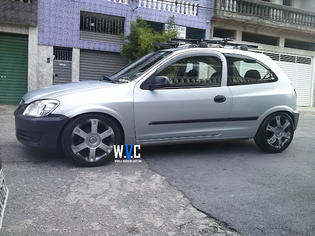 "Celtinha com as 16"" do Vectra Elegance e Baixo na FIXA"