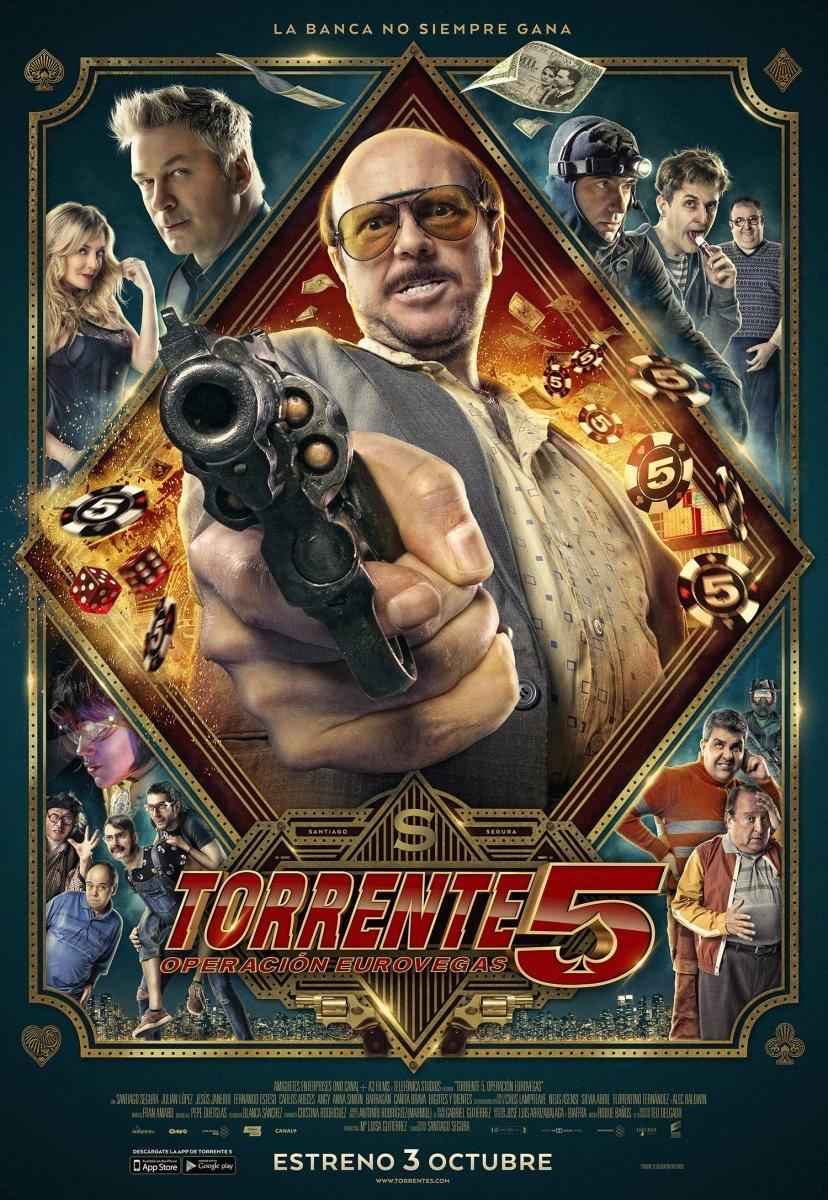Torrente 5: Operación Eurovegas (2014) de Santiago Segura