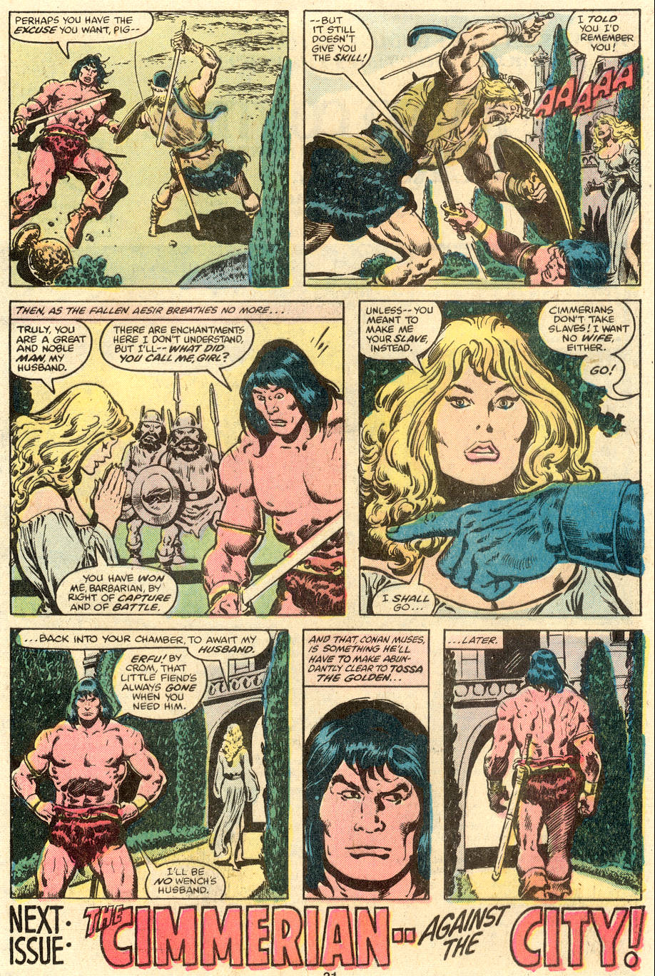 Conan the Barbarian (1970) Issue #110 #122 - English 18
