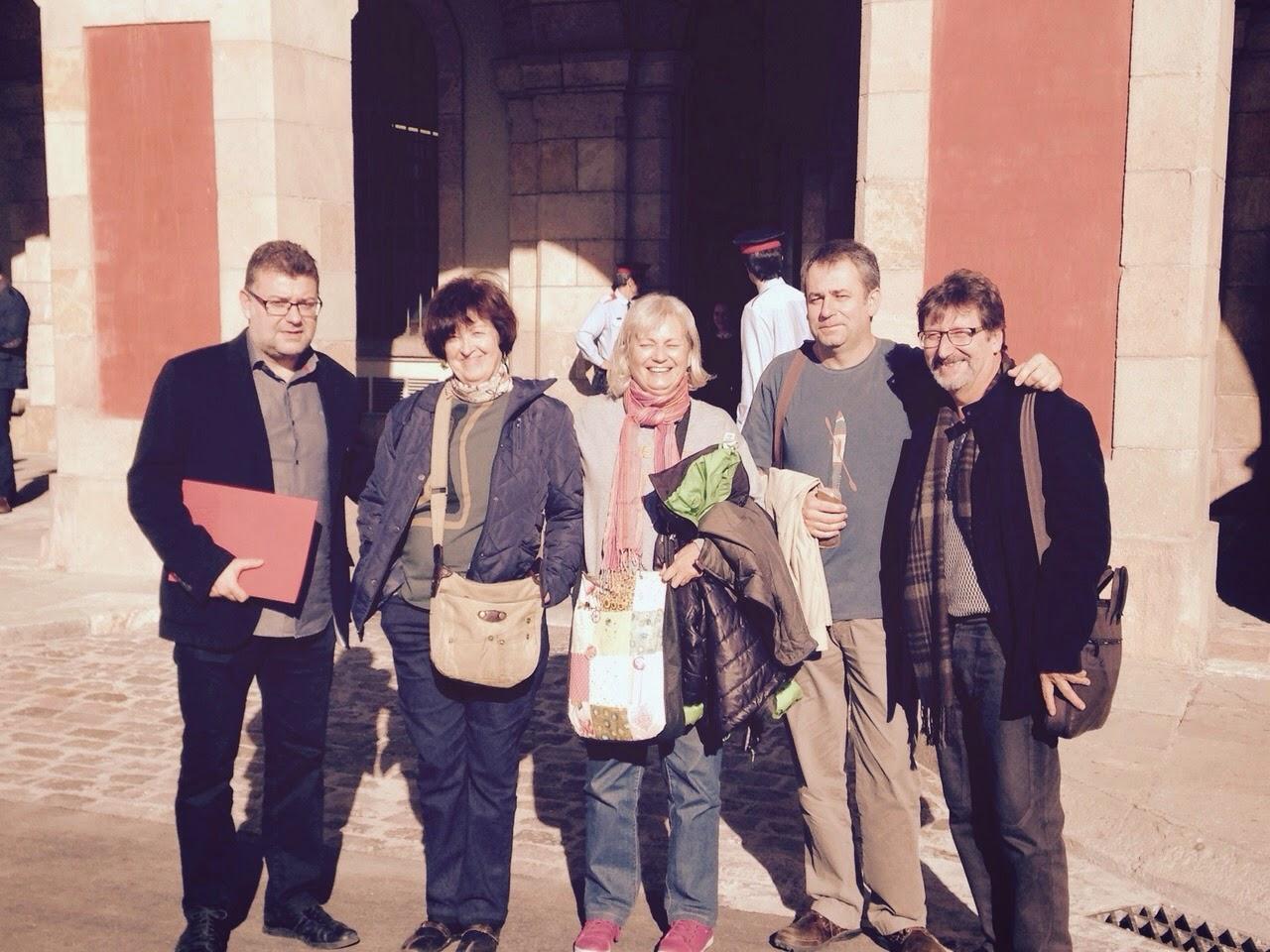 Presentación en el Parlament de Catalunya