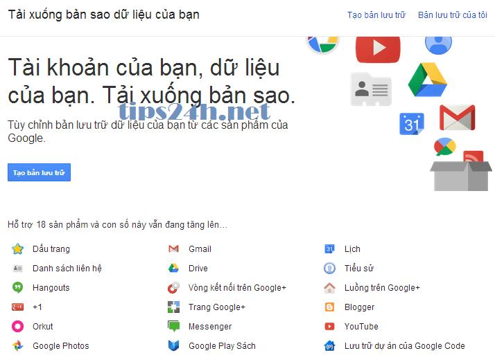 8 liên kết giúp bạn kiểm soát tài khoản Google tốt hơn
