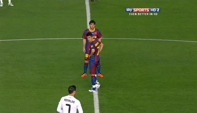 real madrid vs barcelona copa del rey 2011. CdR - Real Madrid v Barcelona