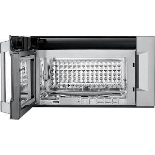 Kenmore PRO Microwave interior