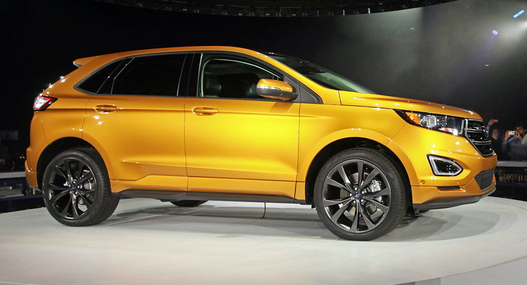 All New 2015 Ford Edge Priced From 28 995 Same As