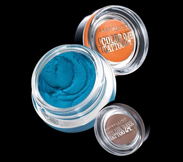 The fancy face maybelline color tattoo 24 hr eyeshadows for Maybelline color tattoo gel eyeshadow