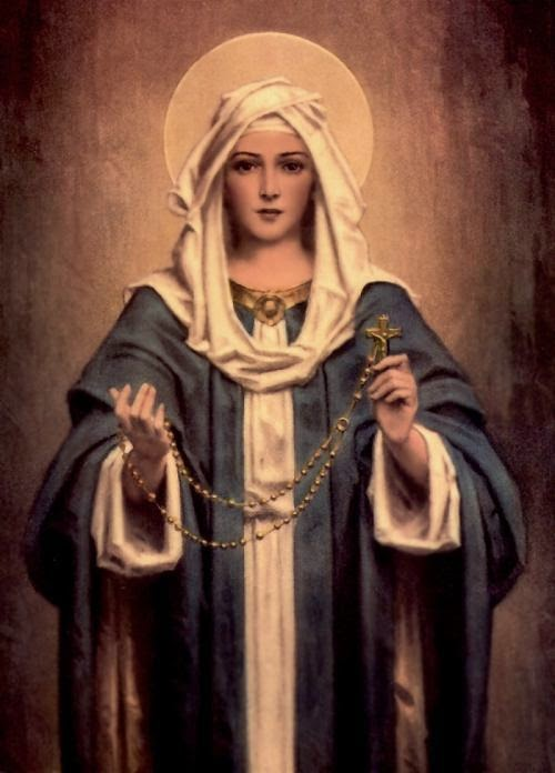 Our Lady of the Rosary - A Saint to know in October
