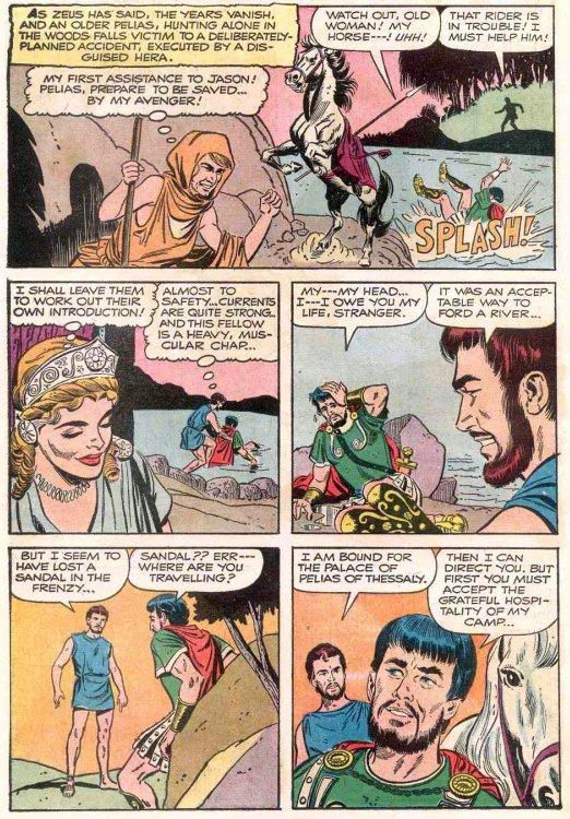 Captain s Library  JASON AND THE ARGONAUTS Part 1Jason And The Argonauts