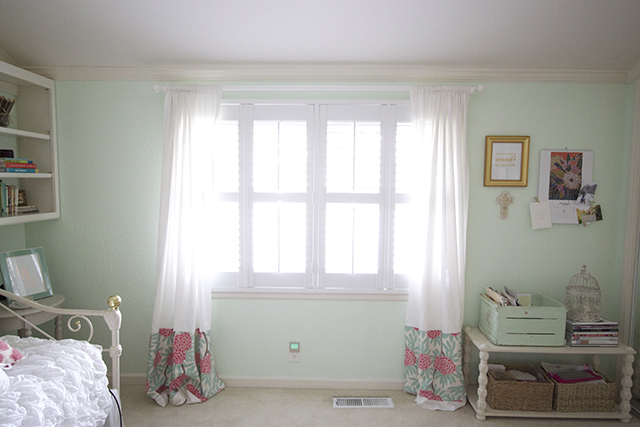 Plantation Shutters With Curtains