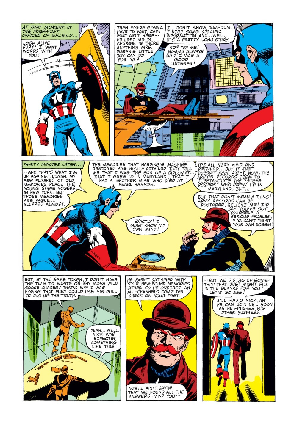 Captain America (1968) Issue #247 #162 - English 7