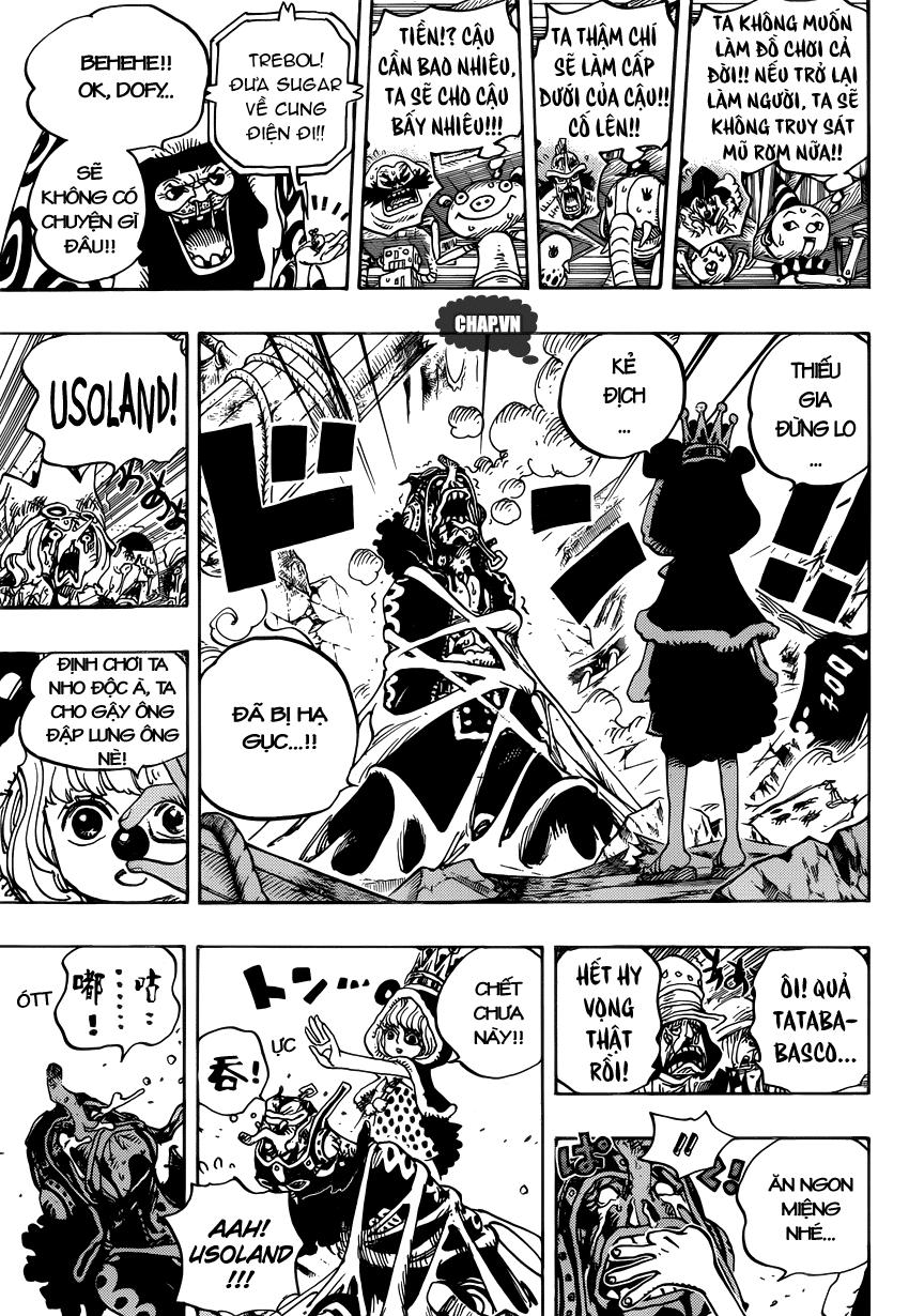 One Piece Chapter 742: Cha sẽ luôn ở cạnh con 017