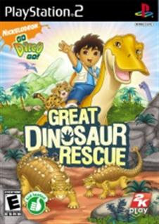 Go, Diego, Go Great Dinosaur Rescue   PS2