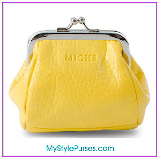 Miche Kiki Coin Purse - Yellow Coin Purse