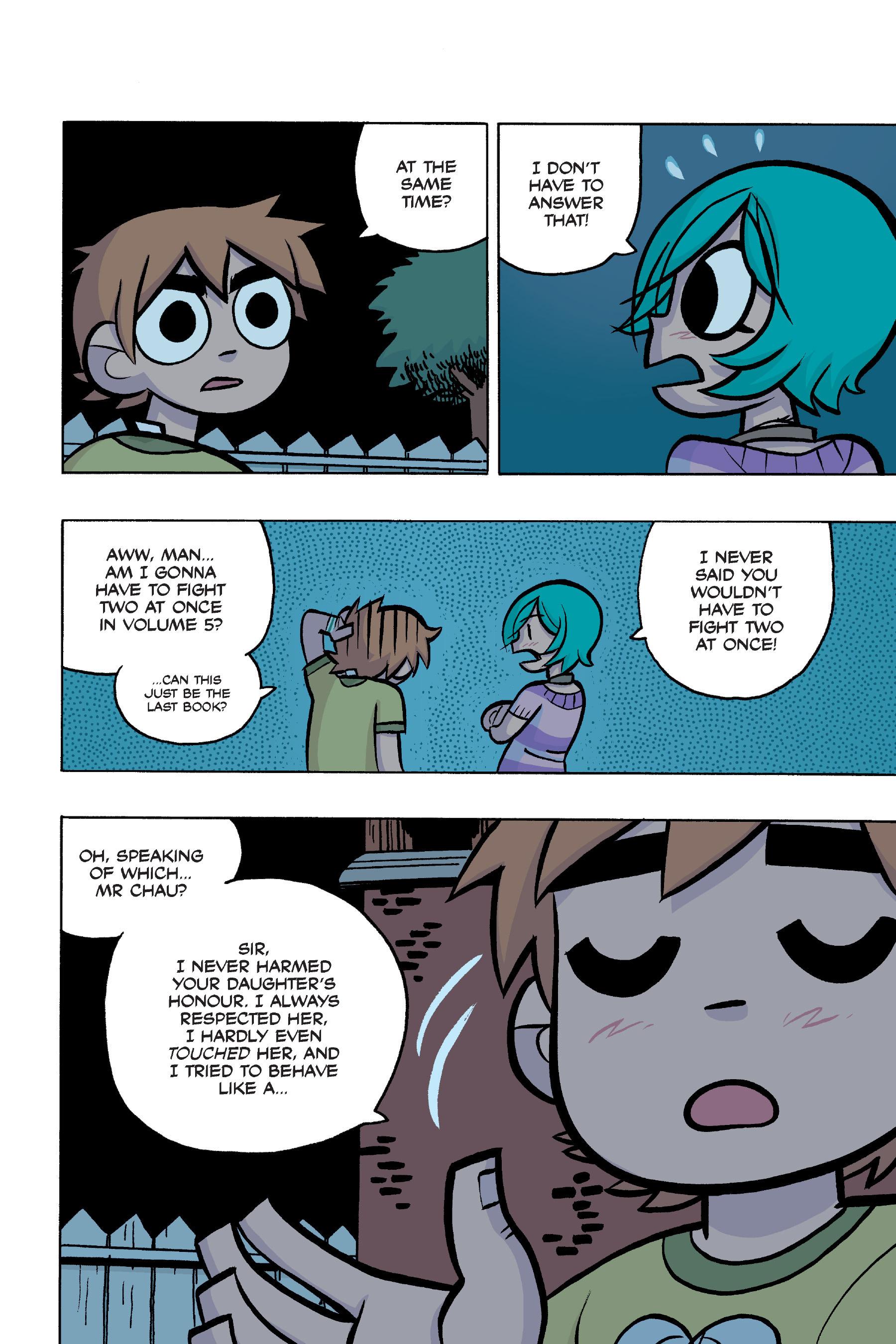 Read online Scott Pilgrim comic -  Issue #4 - 191