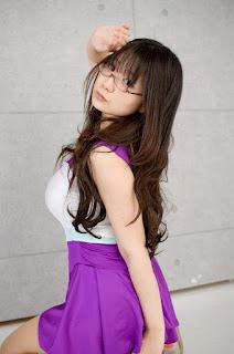 Namachoco Cosplay as Takara Miyuki from Lucky Star