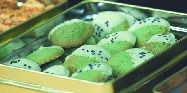 Resep Kue Kering Green Tea Cookies
