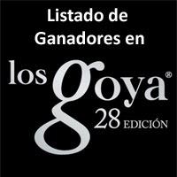 Ganadores Goyas 2014