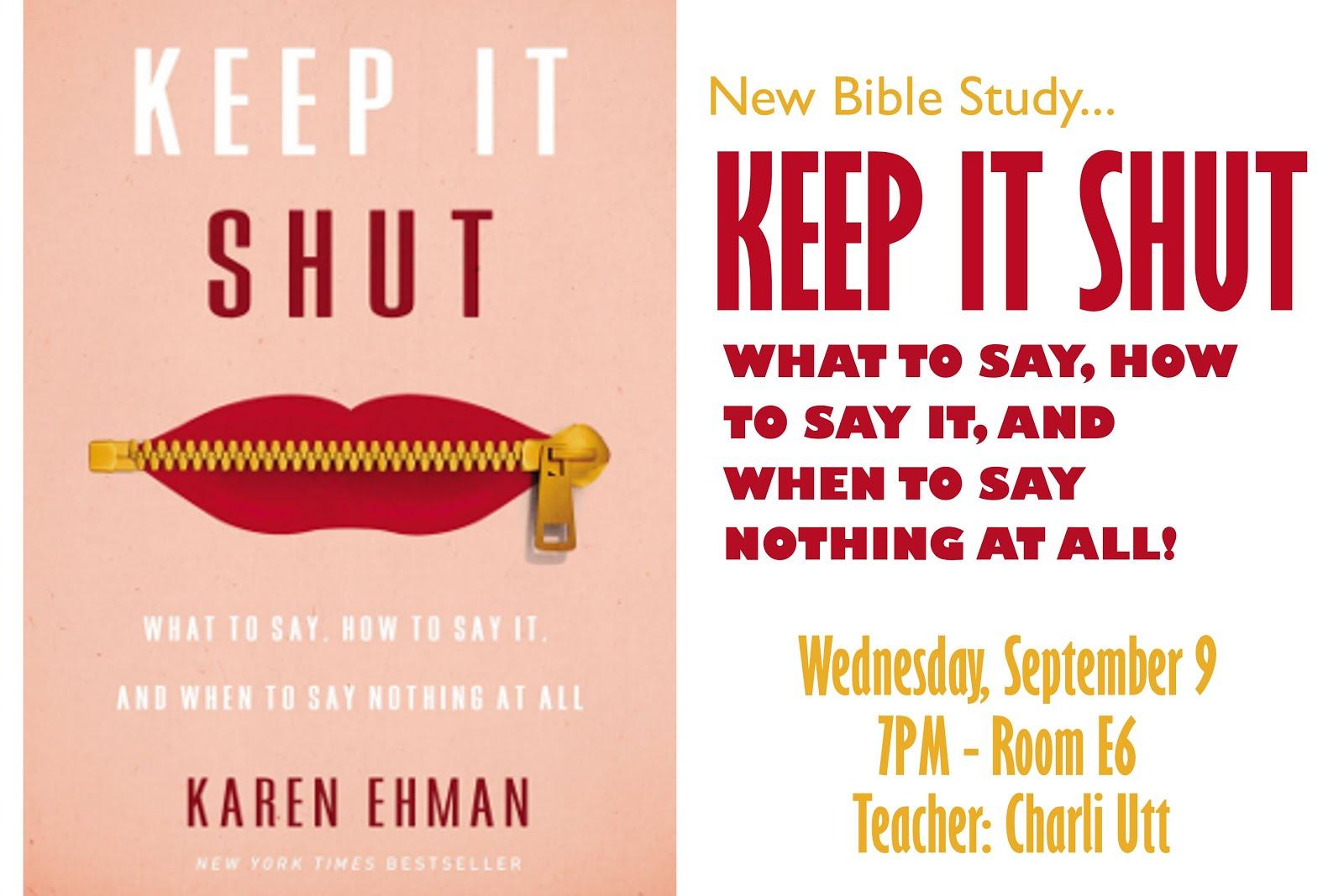Keep It Shut!