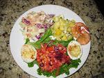 My Plate of Salads
