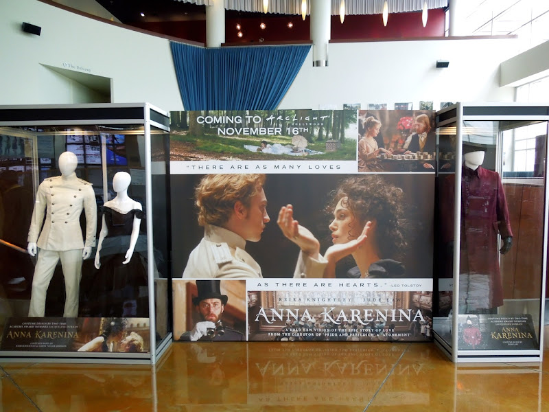 Anna Karenina movie costume exhibit ArcLight Hollywood