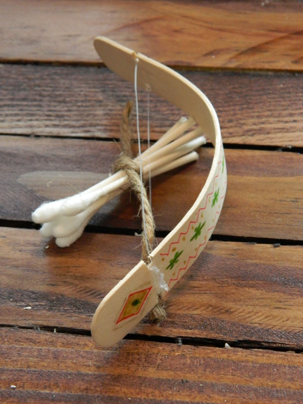 Diy bow and arrow janel from hating martha all for the for Small diy projects for guys