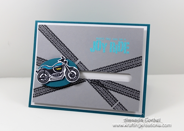 Joy Ride Spinner Card Tutorial