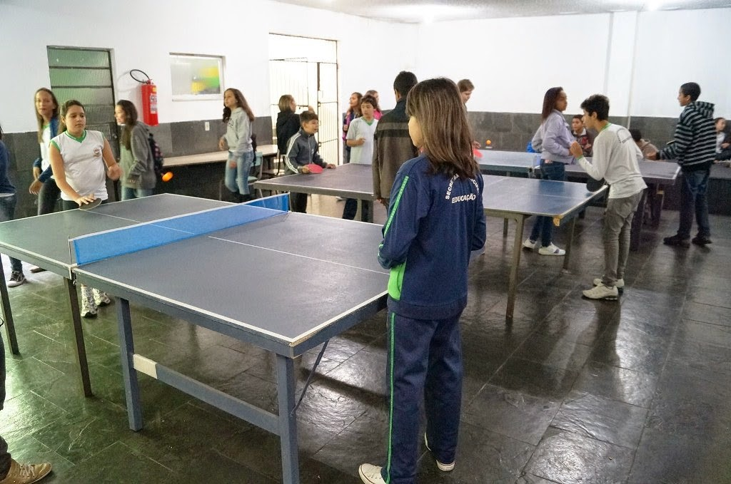 Alunos da Rede Municipal de Ensino praticam atividades físicas no Dia do Desafio