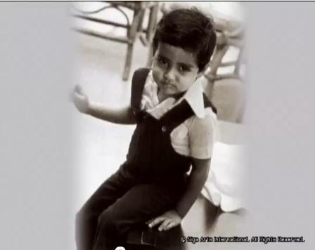 Childhood Pictures Of Abhishek Bachchan! | 5abi Songs ... Abhishek Bachan Childhood