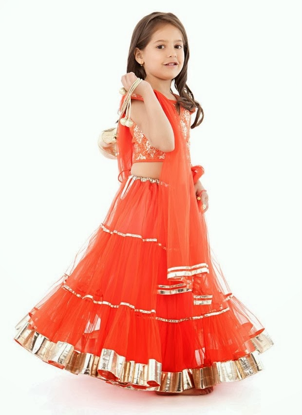 New Fashion Styles Kids Eid Dress Girls Collection 2013