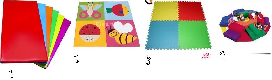 Ser educadora hoy mobiliario til en una clase o una de - Colchonetas suelo infantiles ...
