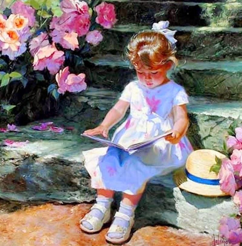 niñas-arte-impresionista-oleo