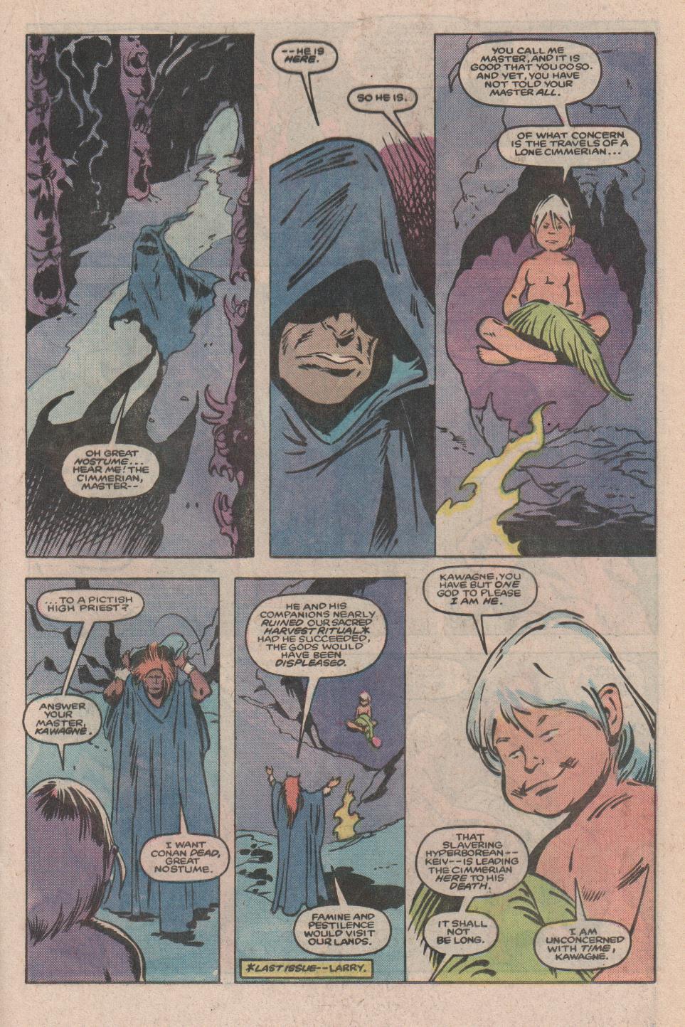 Conan the Barbarian (1970) Issue #173 #185 - English 12