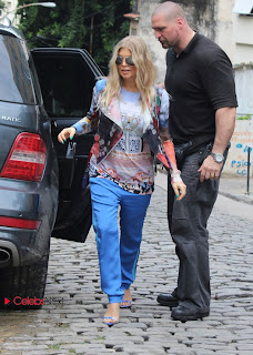 Stacy Ferguson (Fergie) Out and About in Rio De Janeiro 0001