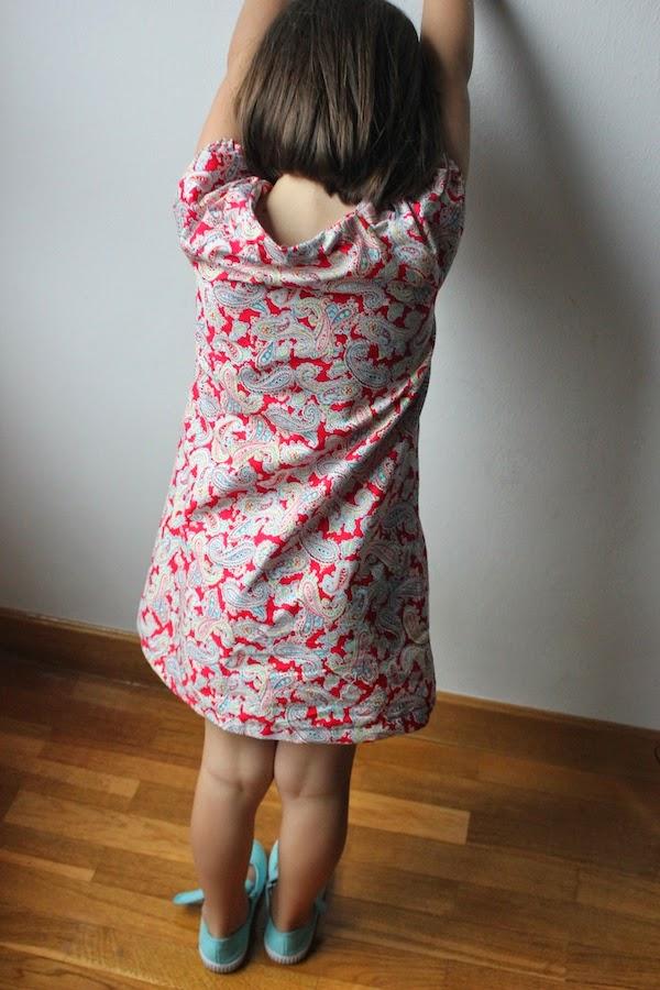 vestido de verano para niñas
