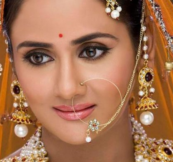 Indian Bridal Nose Ring Designs   SimplyHerStyle