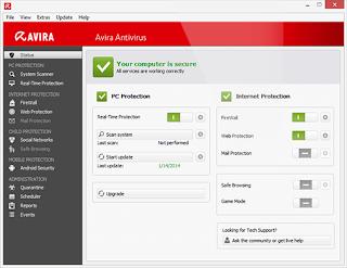 Avira Free Antivirus 15.0.12.408 Full Version