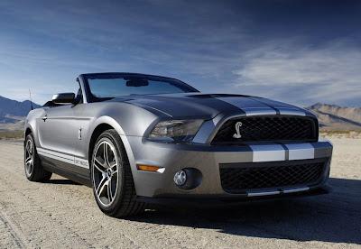 2010 MUSTANG COBRA, Mustang Convertible