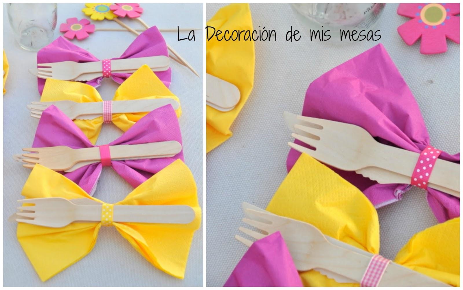 Presentar las servilletas de forma original for Decoracion de servilletas