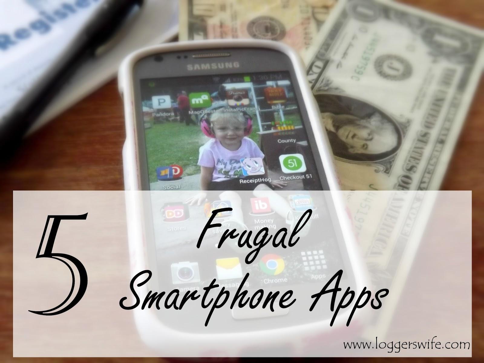 5 Frugal Smartphone Apps
