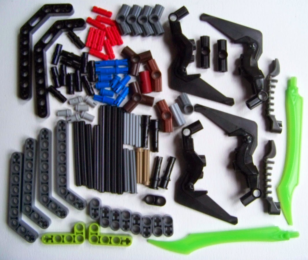 LEGO Galaxy Squad Star Slicer 70703 Parts review
