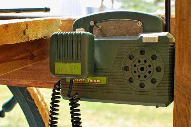 Papan ja poikien rakennusprojekti - Gup A:n radiopuhelin
