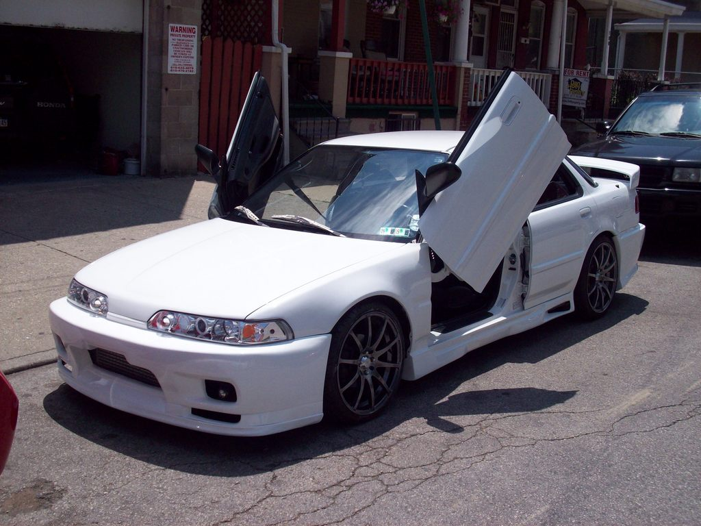 Most wanted car: Acura integra